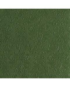 Ambiente 40x40 cm serviet - 15 stk Elegance Mørkegrøn