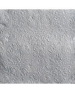 Ambiente 40x40 cm serviet - 15 stk Elegance Silver