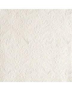 Ambiente 40x40 cm serviet - 15 stk Elegance pearl White