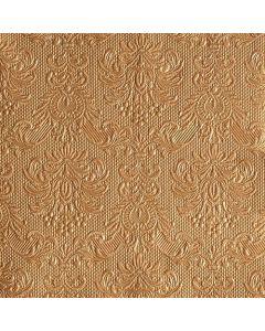 Ambiente 40x40 cm serviet - 15 stk Elegance Bronze