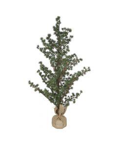 Cedertræ m/jutefod - 125 cm