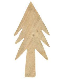 Juletræ i træ - 25cm