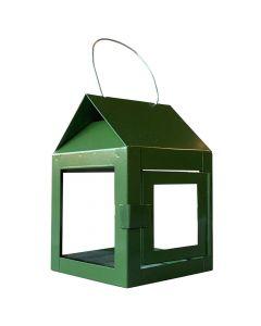 Lanterne galvaniseret Oliven - 8x12cm
