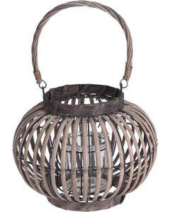 Lanterne bambus 28x24cm