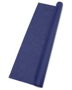 Inspirationsbordløber 30cm x 25 m - mørke blå