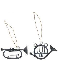 Trompet m/gylden wire