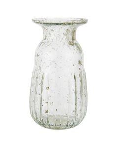 Hyacintvase pebbled glas - Klar