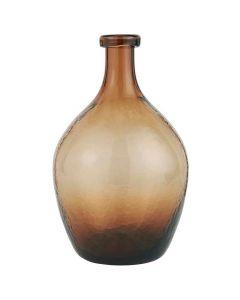Glasballon Mundblæst 28x17cm - Brun
