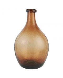 Glasballon Mundblæst 55x24cm - Brun