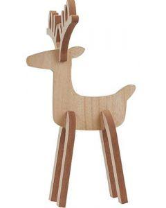 Rensdyr Rudolf Træ - 36cm