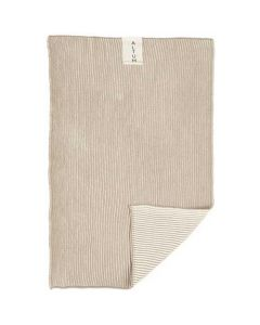 Altum Håndklæde Strikket 60x40cm - Natur