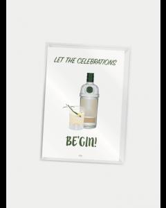 Citatplakat A7 - Be'gin