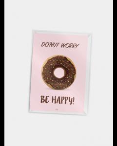 Citatplakat A7 - Do'nut worry