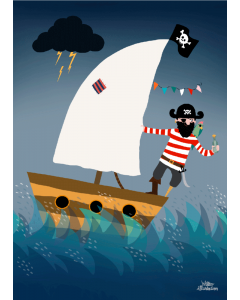 Plakat Pirat På Skattejagt