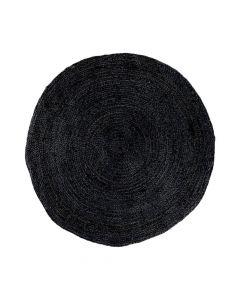 Bombay Gulvtæppe Jute Mørkegrå - Ø150cm