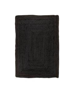 Bombay Gulvtæppe Jute Mørkegrå - 180x120cm