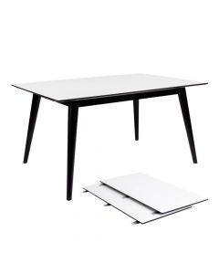 Copenhagen Spisebord Hvid - 150/230x95cm