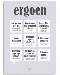 Dialægt Plakat - Ergoen