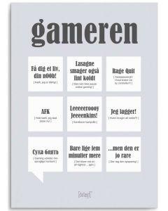 Dialægt Kort - Gameren