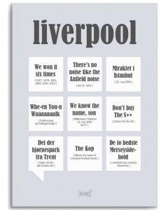 Dialægt Plakat - Liverpool