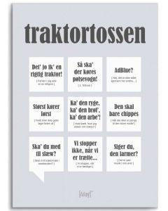 Dialægt Plakat - Traktortossen