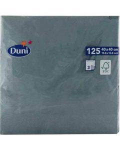 Duni serviet 40x40cm 3-lags 125stk - Ocean Teal