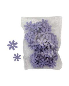 Blomst filt 72stk - Lavendel