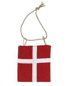 Flag Dannebrog - 7,5x8,5cm