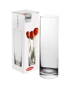 Flora cylindervase glas - 26,5 cm Ø7,5cm