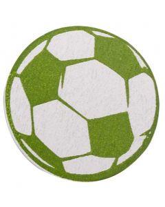 Strø håndbold/fodbold træ 18stk - lime Ø3cm