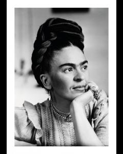 Plakat Posing Frida Kahlo