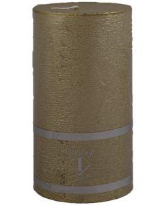Rustik Bloklys 7x12,5 cm - guld