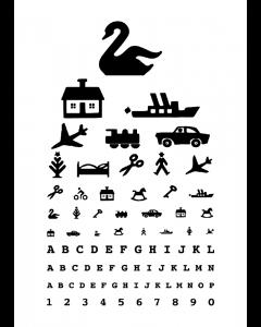 Plakat Retro Synstavle