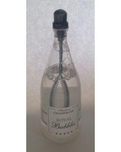 Sæbebobler champagneflaske