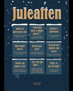 Dialægt A5 Julekort - Juleaften