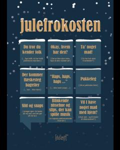 Dialægt A5 Julekort - Julefrokosten