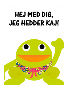 Plakat Kaj Hvid – Hej Med Dig