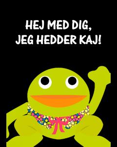 Plakat Kaj Sort – Hej Med Dig