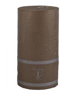 Rustik Bloklys 7x12,5 cm - kobber