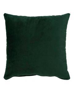 Lido Pude 40x40cm Velour - Mørkegrøn
