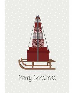 Metalskilt - Merry Christmas