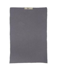 Mynte Håndklæde 60x40cm - Mørkegrå