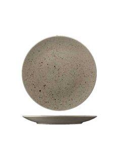 Stentøj tallerken 21cm - Natur