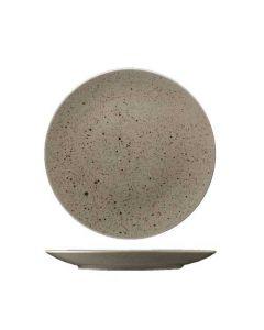 Stentøj tallerken 24cm - Natur