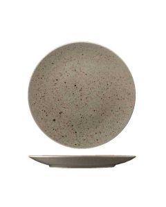 Stentøj tallerken 30cm - Natur