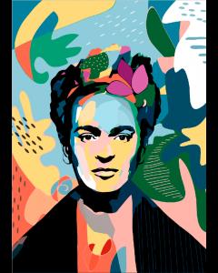 Plakat Powerful Frida Kahlo