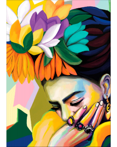 Plakat Shy Frida Kahlo