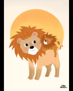 Plakat Tigermor & Tigerunge