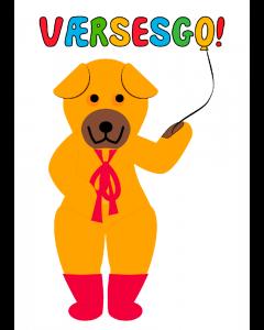 Plakat Bamse Værsesgo