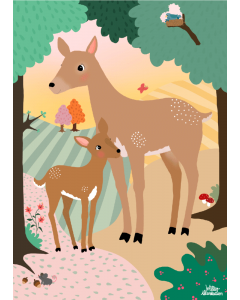 Plakat Bambi I Skoven